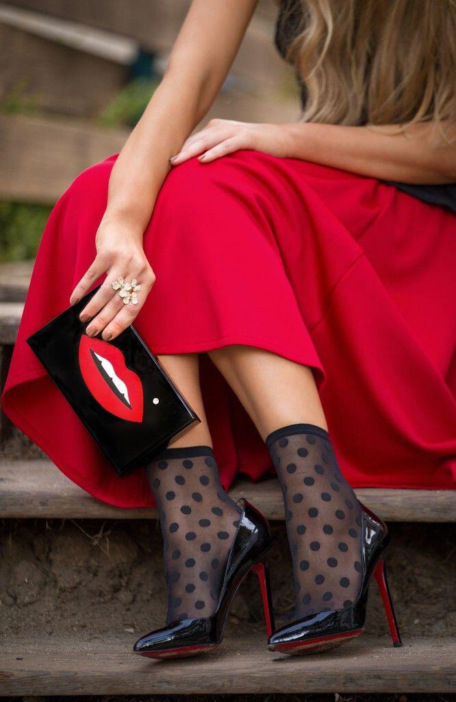 wear heels socks fashionista 4 - How to wear heels with socks like a fashionista