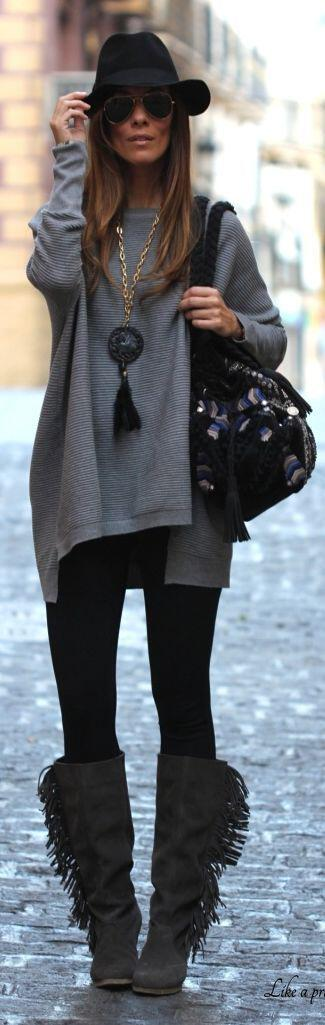 5-casual-outfits-fringed-boots-try-now