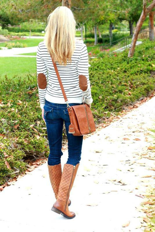 5 cute outfits classic leather boots copy right now 4 - 5 cute outfits with classic leather boots to copy right now