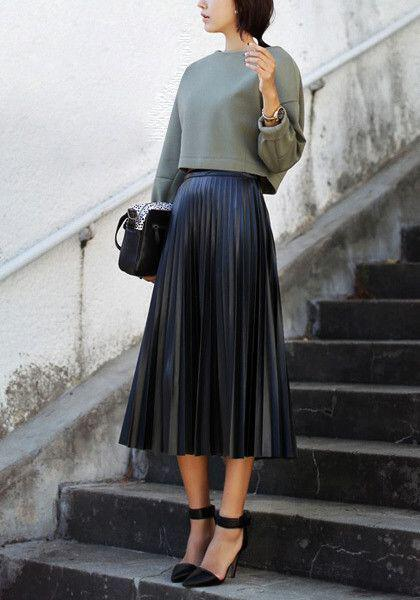 6-ways-wear-leather-pleated-skirt-winter-1