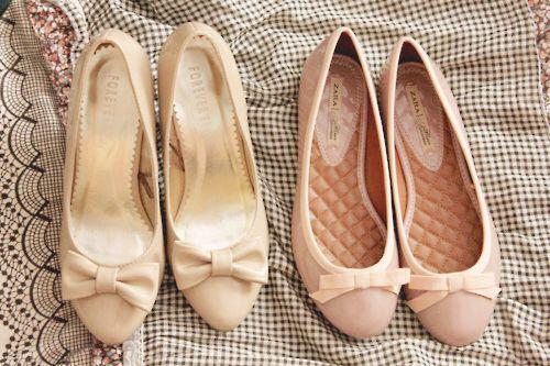 wear pastel ballerina shoes 2 - How to wear pastel ballerina shoes
