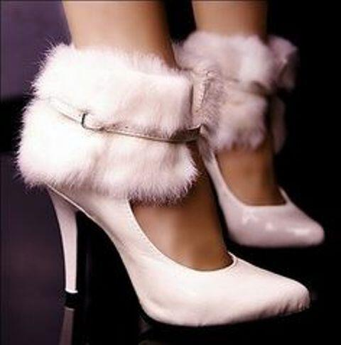 6 elegant suggestions for winter wedding shoes 3 - 6 elegant suggestions for winter wedding shoes