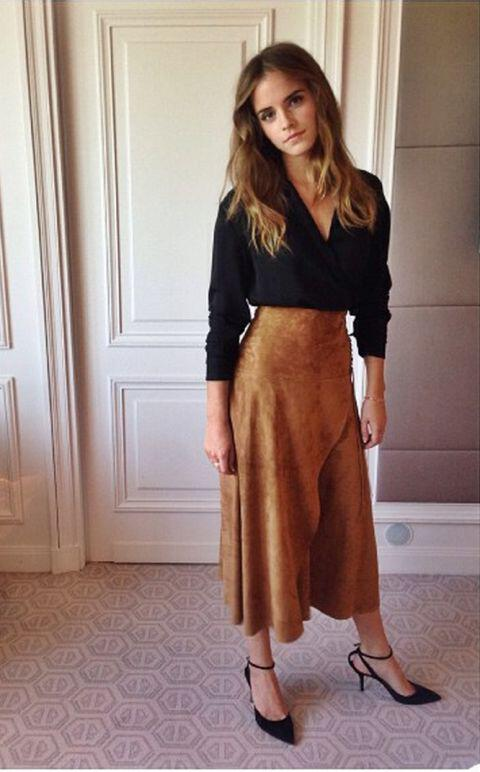 6 stylish ways wear suede skirt winter - 6 stylish ways to wear a suede skirt this winter