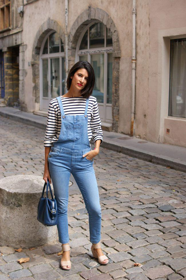 6 ways to combine jeans with striped tops ...