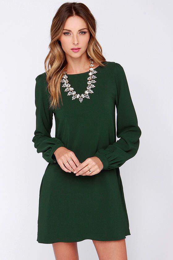 color-shoes-accessories-wear-dark-green-dress