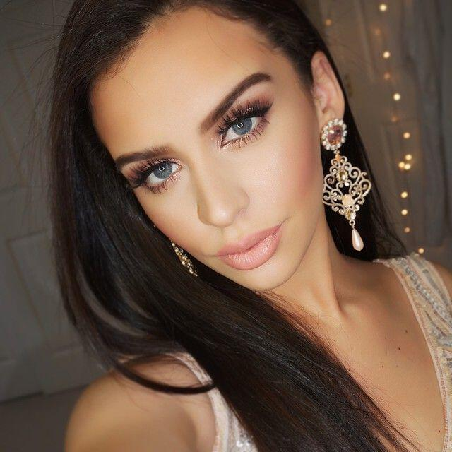 Fashionable ideas for New Year's Eve makeup ...