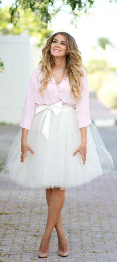Fun Ways To Wear A Tulle Skirt On Valentines