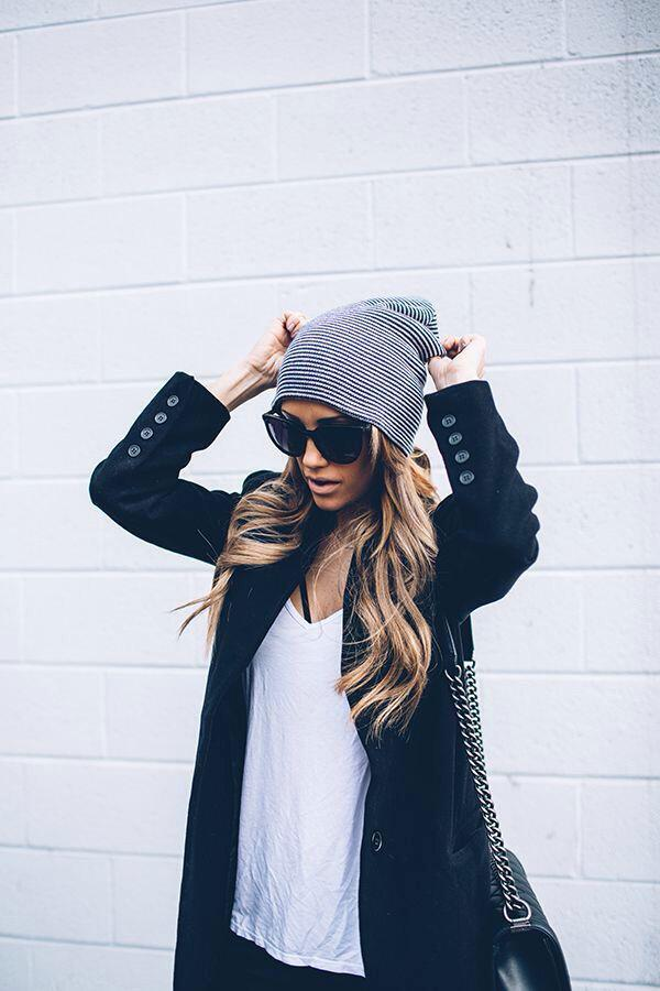 6 classic outfits go beanies 5 - 6 classic outfits that go with beanies