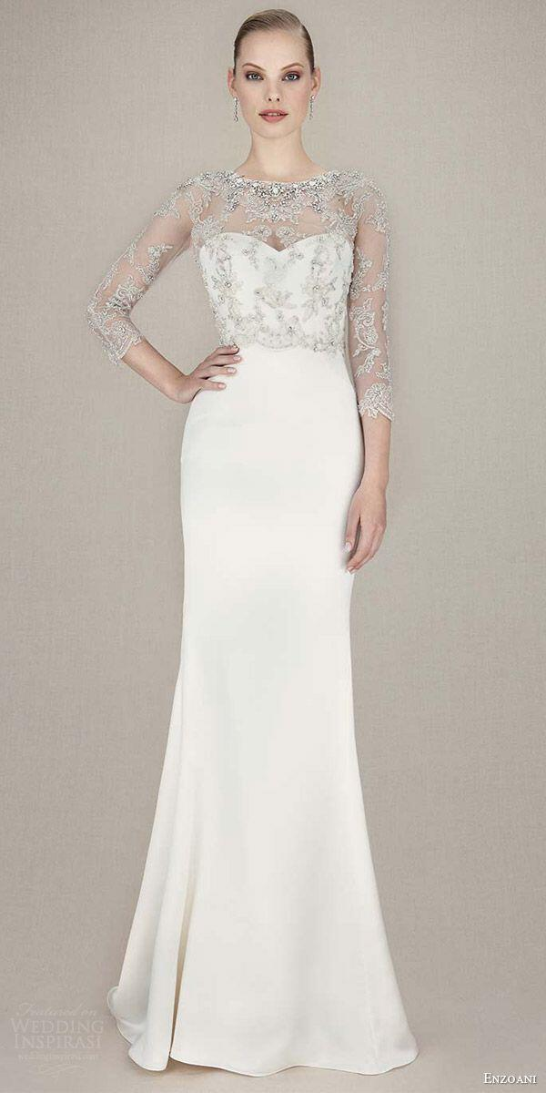 6 plain wedding dresses for chic and simple style - Page 2 of 6 ...