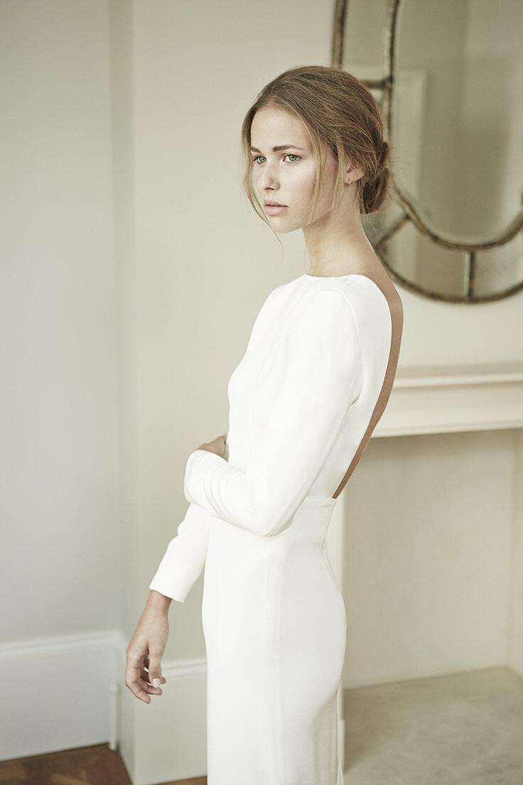 6 plain wedding dresses for chic and simple style - Page 4 of 6 ...