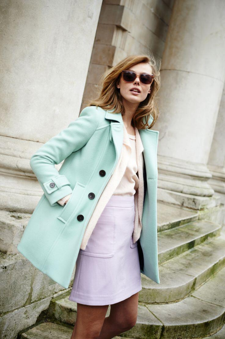6 stylish pastel outfits wear spring 2 - 6 stylish pastel outfits to wear this spring
