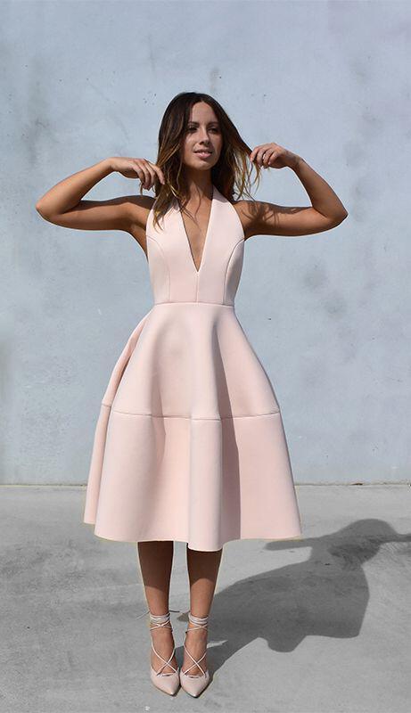 6 pastel pink dresses stylish spring outfits 4 - 6 pastel pink dresses for stylish spring outfits