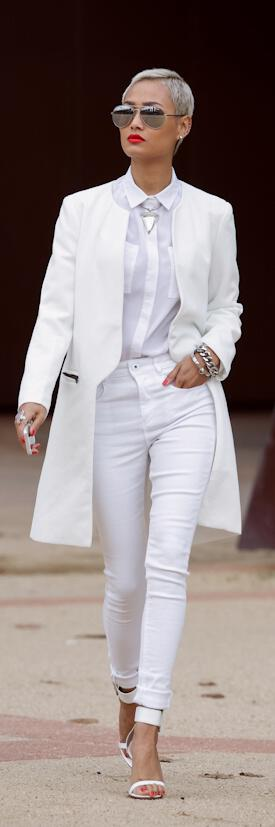 6 total white outfits for spring and summer ...