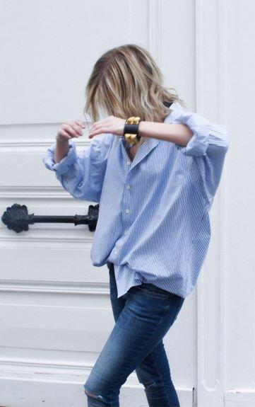 fashionable-ways-wear-spring-blue-shirts-1