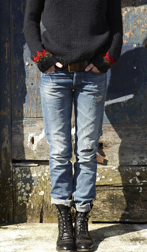 25 stylish winter outfits with boyfriend jeans and sweaters 8 - Πως να φορέσεις boyfriend jeans με πουλόβερ το χειμώνα - 8 outfit ideas