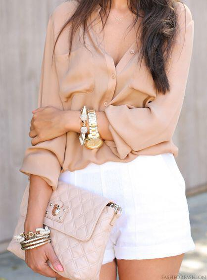 11 classy spring outfits with a pastel blouse 7 - 11 classy spring outfits with a pastel blouse