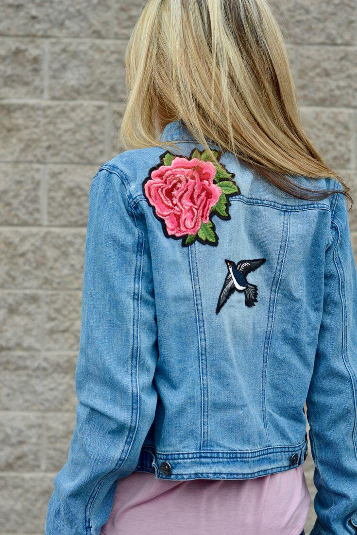 11 lovely spring outfits with a denim jacket 8 - 11 lovely spring outfits with a denim jacket