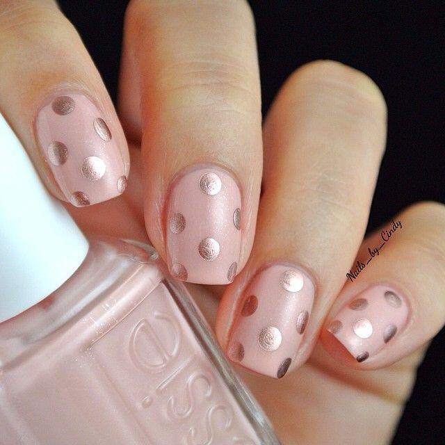 14 adorable polka dot nails art you can totally copy ...