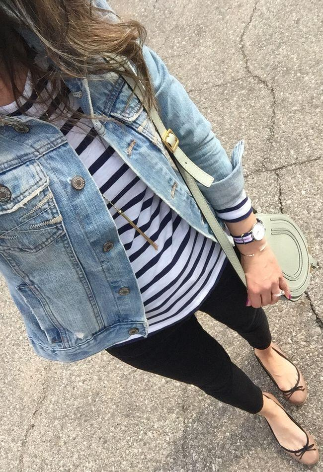 14 beautiful spring outfits with a striped top 2 - 14 beautiful spring outfits with a striped top