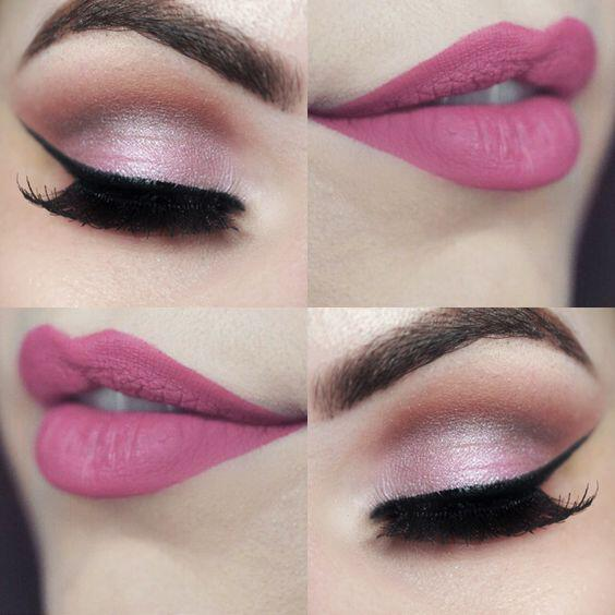 9 valentines day makeup ideas that you can copy - 9 Valentine's day makeup ideas that you can copy