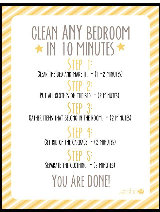 The 14 Best Checklists To Clean Your Bedroom For Adults And Kids Page 10 Of 14