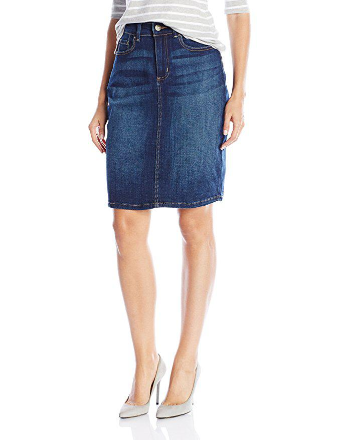 11 trendy denim skirt to try right now