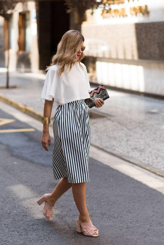 12 stylish spring outfits with culottes 10 - 12 stylish spring outfits with culottes