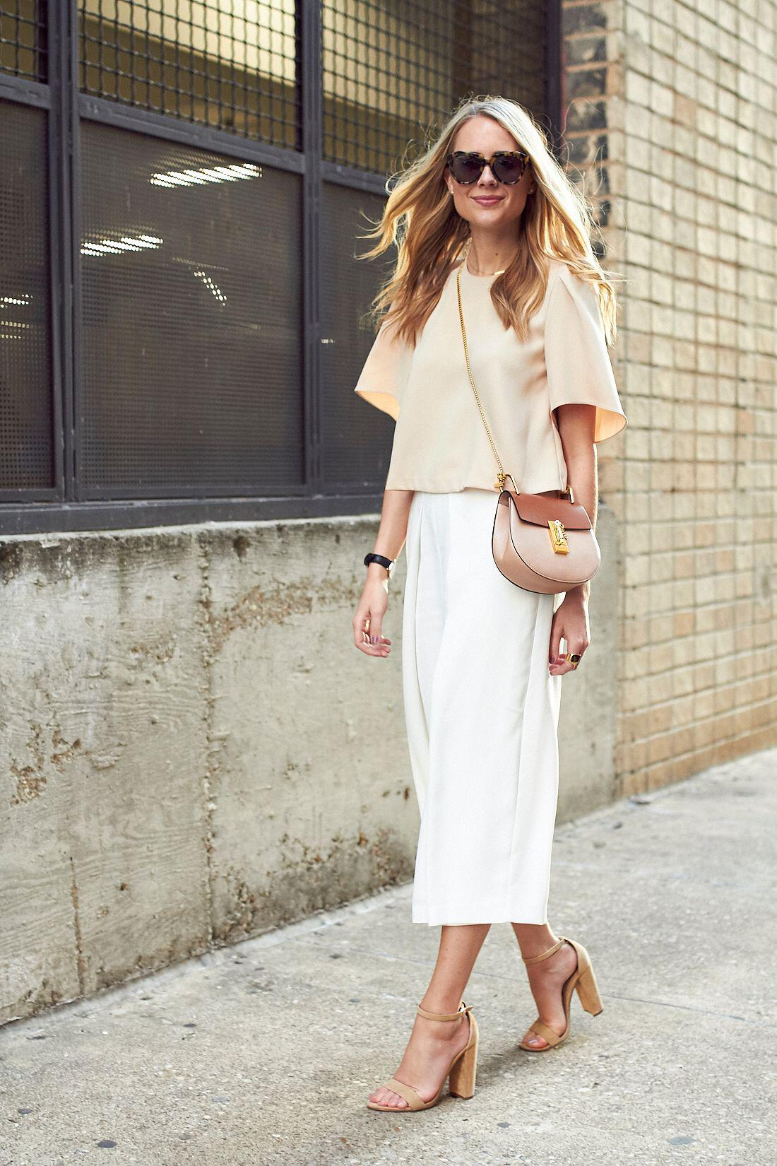12 stylish spring outfits with culottes 2 - 12 stylish spring outfits with culottes