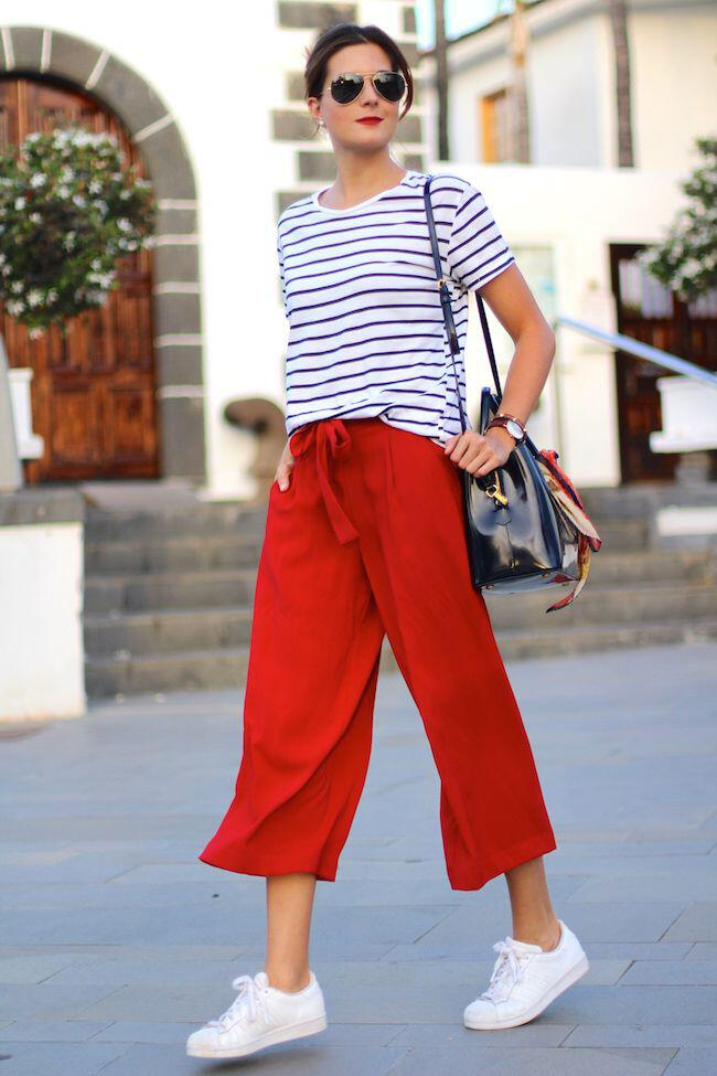 12 stylish spring outfits with culottes 4 - 12 stylish spring outfits with culottes