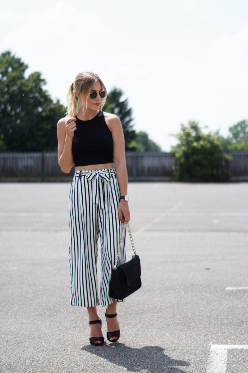 12 stylish spring outfits with culottes 5 - 12 stylish spring outfits with culottes