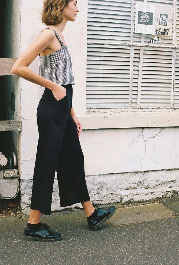 12 stylish spring outfits with culottes 9 - 12 stylish spring outfits with culottes