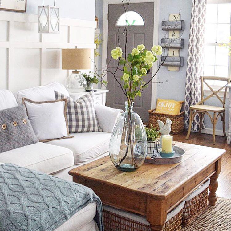 Spring Living Room Decorating Ideas: 15 Living Room Spring Decor Ideas You Can Copy