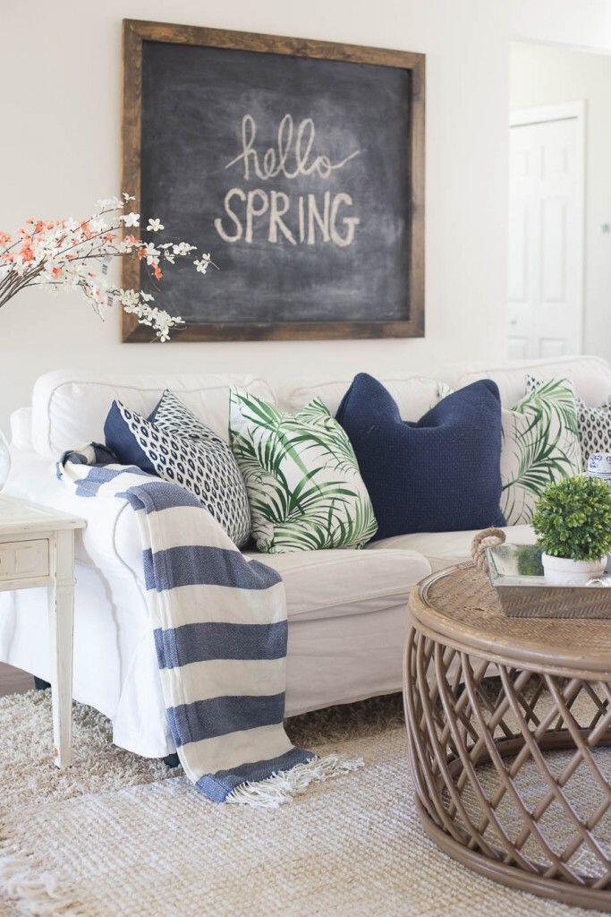 15 living room spring decor ideas you can copy - 15 living room spring decor ideas you can copy