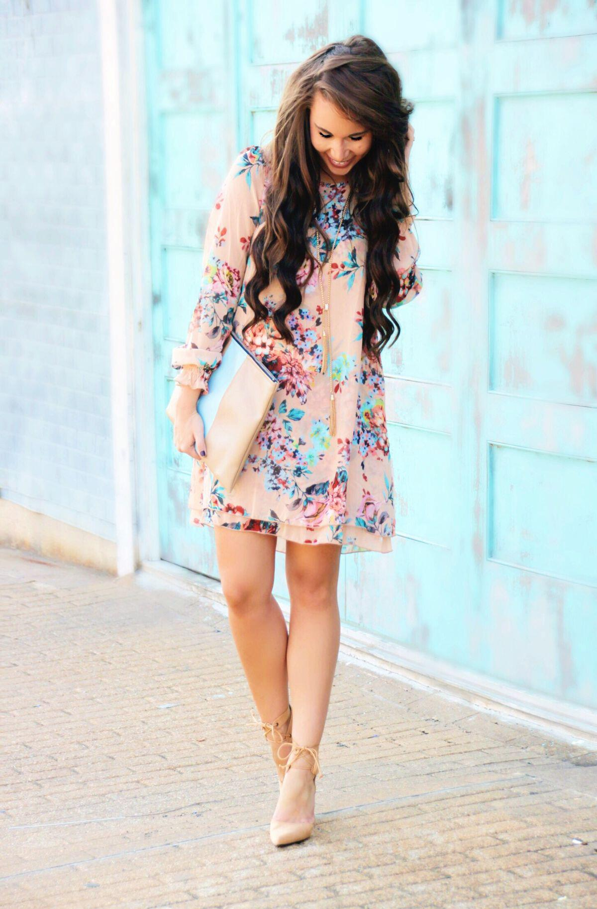 7 inspiring easter outfits with dresses and skirts for women 2 - 7 inspiring Easter outfits with dresses and skirts for women