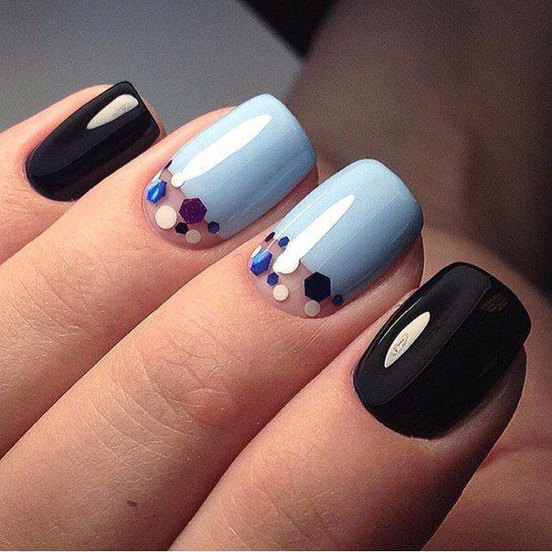 geometric nailart 15 designs 10 - Geometric nailart 15 best designs to copy