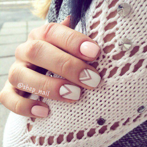 geometric nailart 15 designs 11 - Geometric nailart 15 best designs to copy
