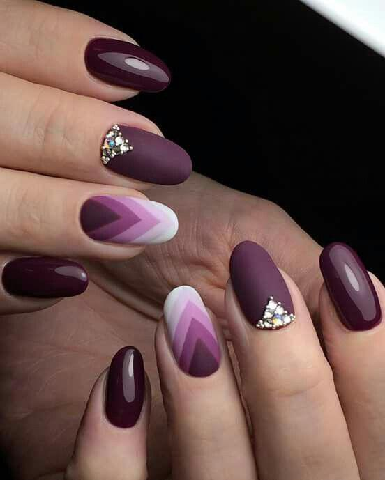 geometric nailart 15 designs 2 - Geometric nailart 15 best designs to copy