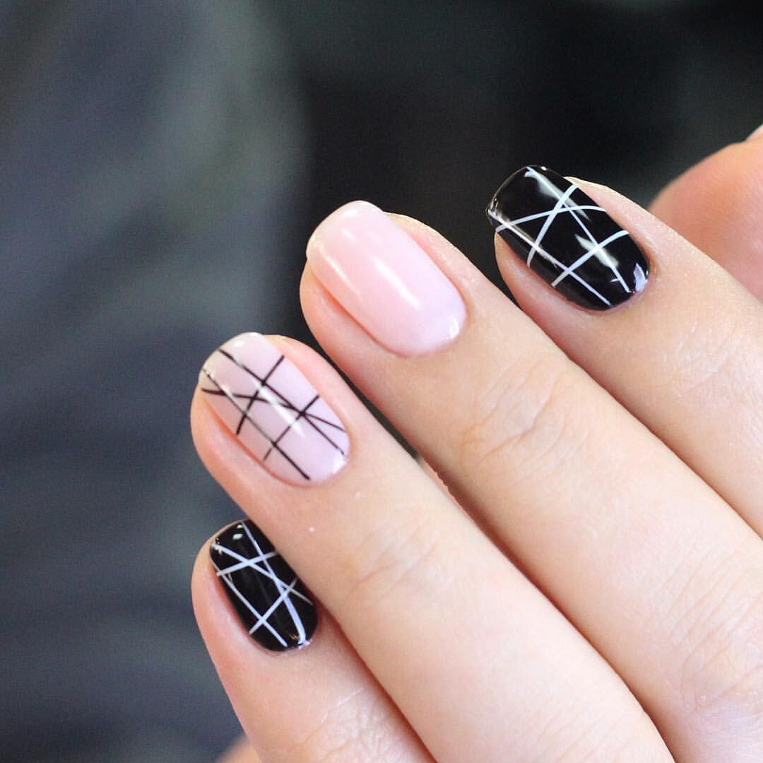 geometric nailart 15 designs 6 - Geometric nailart 15 best designs to copy
