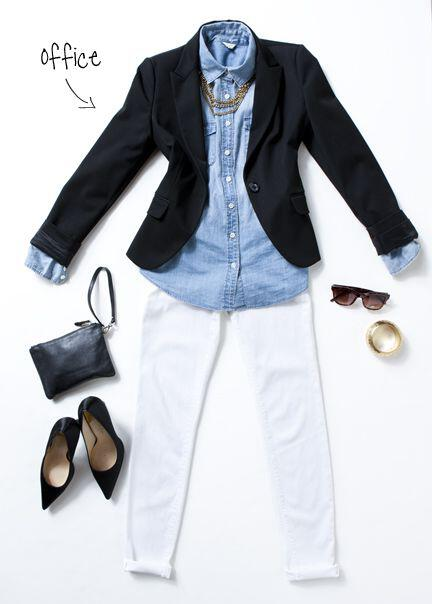 14 ideas to wear your black blazer in spring outfits 1 - 14 ideas to wear your black blazer in spring outfits