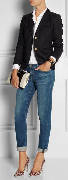 14 ideas to wear your black blazer in spring outfits 12 - 14 ideas to wear your black blazer in spring outfits