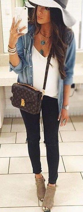 14 stylish ways to wear ankle boots in casual spring outfits 2 - 14 stylish ways to wear ankle boots in casual spring outfits