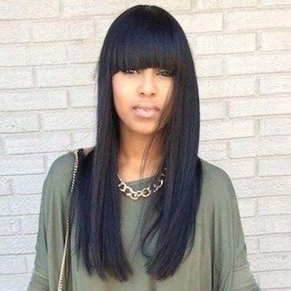 15 beautiful straight hairstyles for women to try 3 - 15 beautiful straight hairstyles for women to try