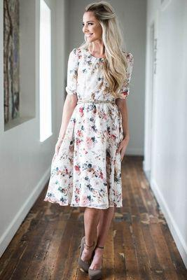 15 stylish church easter outfits for women to get ideas from 10 - 15 stylish church Easter outfits for women to get ideas from