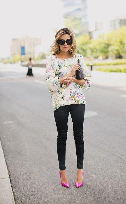 c8554f7b52 15 stylish spring work outfit with jeans you should try - Page 7 of ...