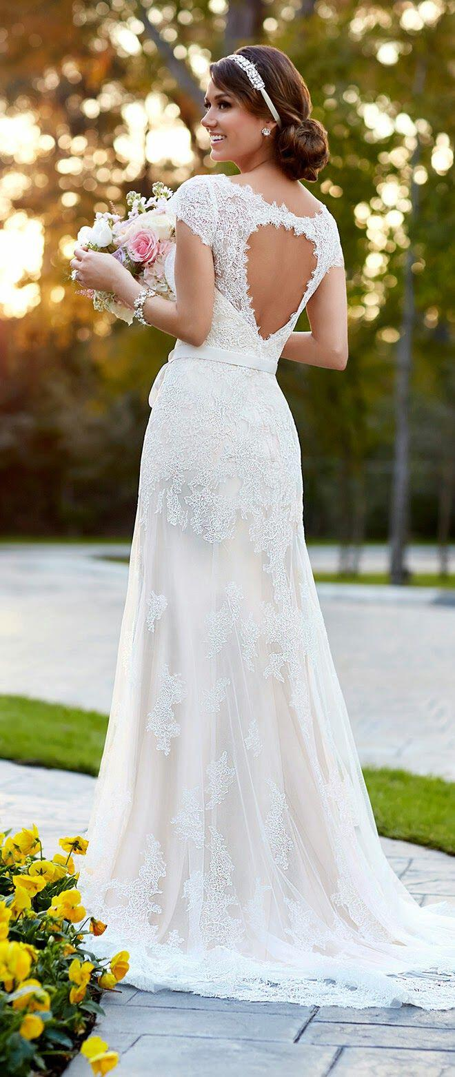 6 romantic wedding dresses for spring part 2 2 - 6 Romantic wedding dresses for spring (part 2)