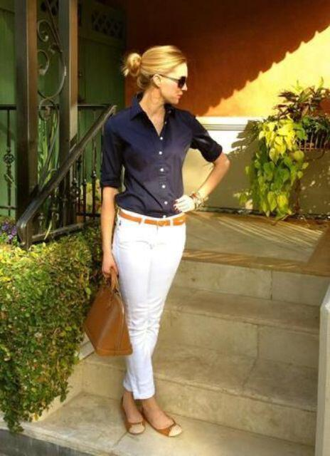 9 stylish business casual outfits with flats to wear this summer 3 - 9 stylish business casual outfits with flats to wear this summer