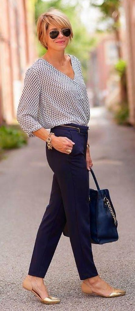 9 stylish business casual outfits with flats to wear this summer 5 - 9 stylish business casual outfits with flats to wear this summer