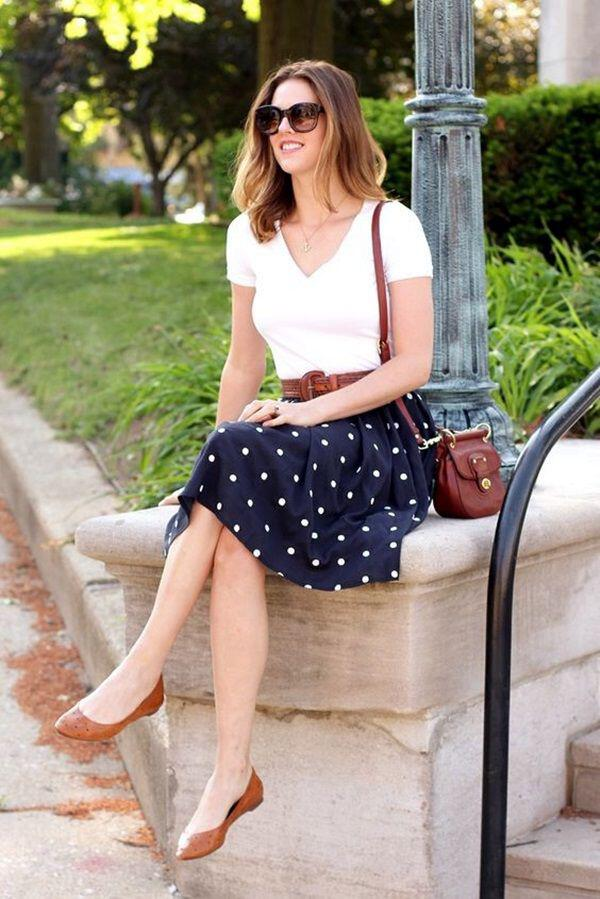 9 stylish business casual outfits with flats to wear this summer 6 - 9 stylish business casual outfits with flats to wear this summer
