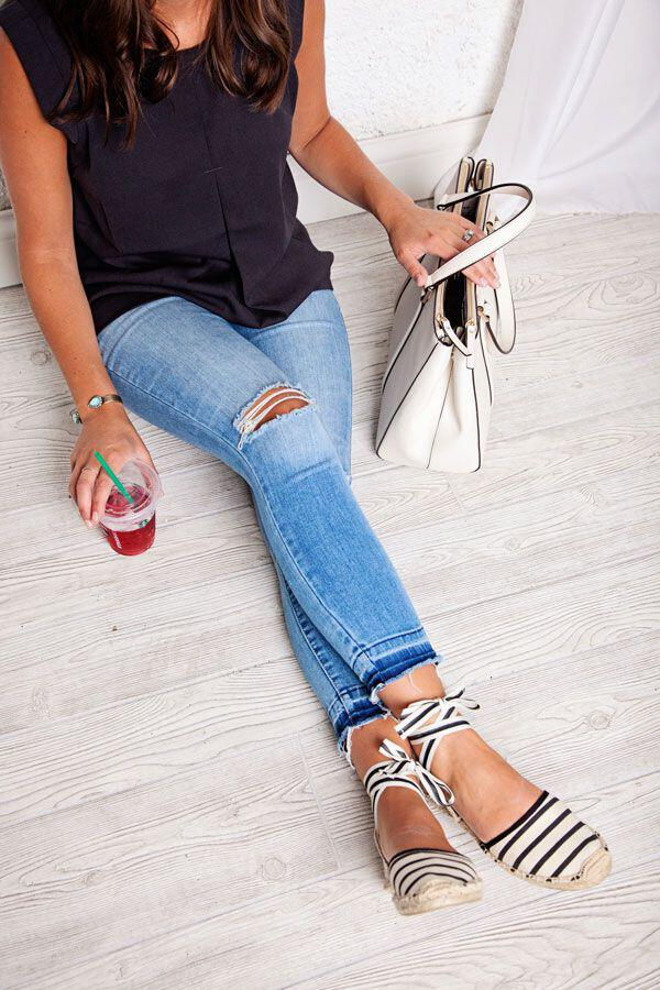 12 outfit ideas to wear espadrilles during spring and summer 10 - 12 outfit ideas to wear espadrilles during spring and summer
