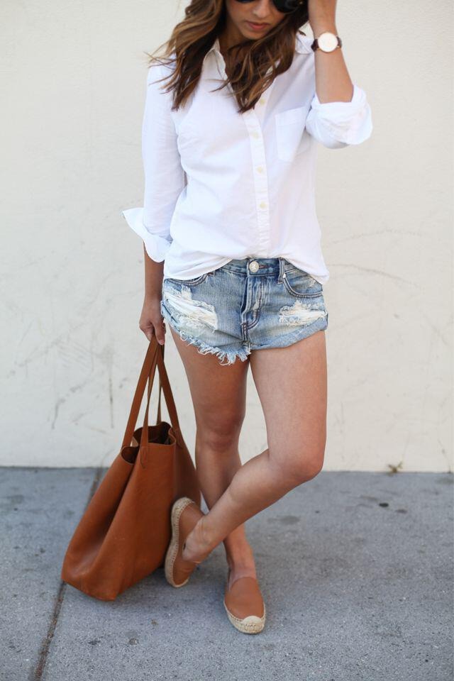 12 outfit ideas to wear espadrilles during spring and summer 3 - 12 outfit ideas to wear espadrilles during spring and summer